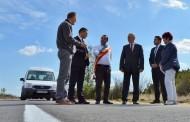 8 kilometri de asfalt nou leagă Doljul de Vâlcea. Primul tronson al DJ 643D finalizat
