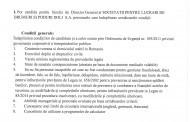 Anunt privind recrutarea si evaluarea/selectia candidatiilor pentru functia de director general al S.C. P.L.D.P. Dolj S.A.