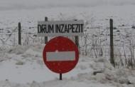 12 drumuri judeţene închise din cauza zăpezii